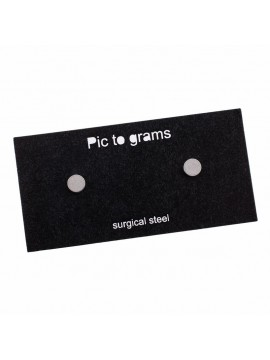 Náušnice Pic to grams - Kruh Malý